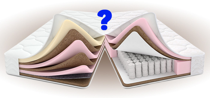 The difference between spring and springless mattresses
