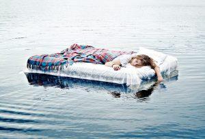 Wet mattress